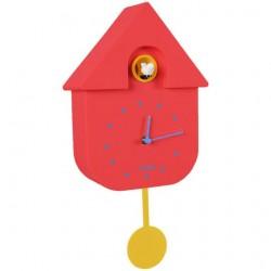 Reloj Cuco casita multicolor