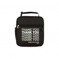 "Bolsa porta tupper ""Thank you"""