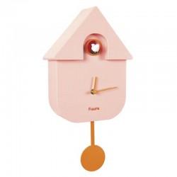 Reloj Cuco Casita Rosa