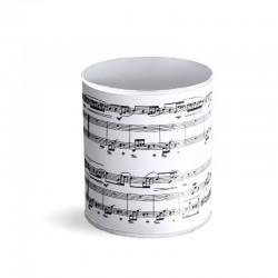 Portalápices vaso Music
