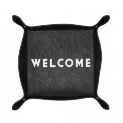 "Vacía bolsillos ""Welcome"""