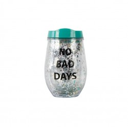 "Tumbler ""No Bad Days"" Verde"